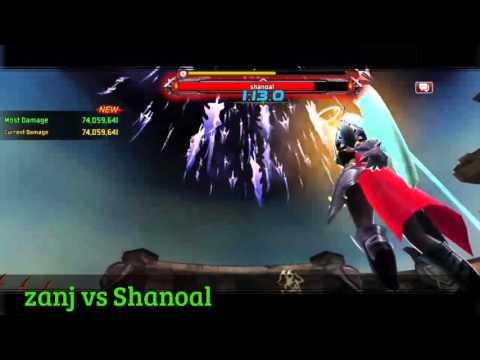 Kritika | White Knights | Android | Versus World Boss - Eclair Shanoal - SEA | April 2016