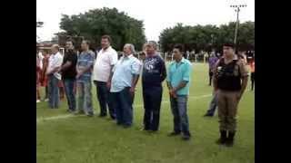 Abertura da 1ª copinha de futebol de base Água Comprida-MG