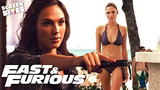 Gisele's Best Moments | Gal Gadot In The Fast & Furious Series | SceneScreen