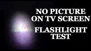 LCD & LED TV Repair - No Image & Blank Black Screen Flashlight Test - How to Fix LCD & LED TVs(LED & LCD TV How to Diagnose Symptom of No Image on the Screen CLICK HERE to BUY TV REPAIR PARTS: http://www.shopjimmy.com/?utm_source=., 2014-09-15T13:34:24.000Z)