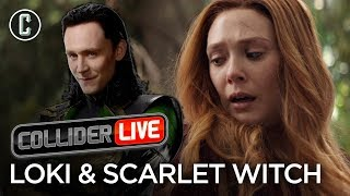 Standalone Loki & Scarlet Witch TV Shows Coming to Disney Streaming - Collider Live #14