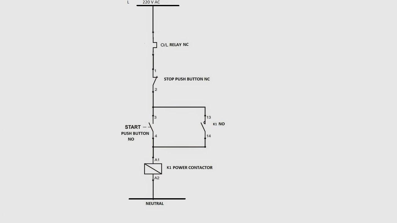 Wiring Diagram Dol Motor Starter
