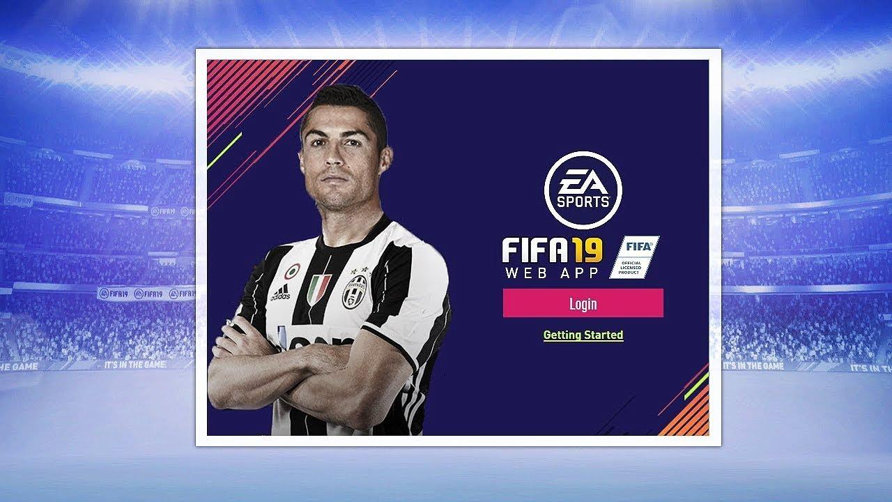Fifa19 Web App