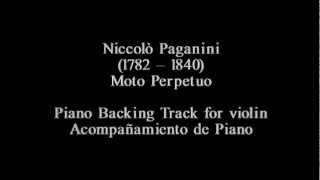 [Piano Track] Nicolò Paganini - Moto Perpetuo