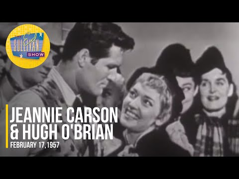 """Jeannie Carson & Hugh O'Brian """"Skip To My Lou & Campbells Are Coming"""" on The Ed Sullivan Show"""