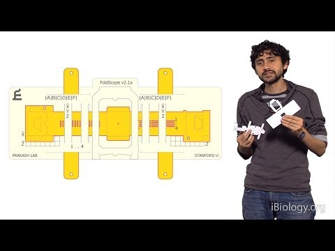 Manu Prakash (Stanford): Foldscope: Origami Based Paper Microscopes