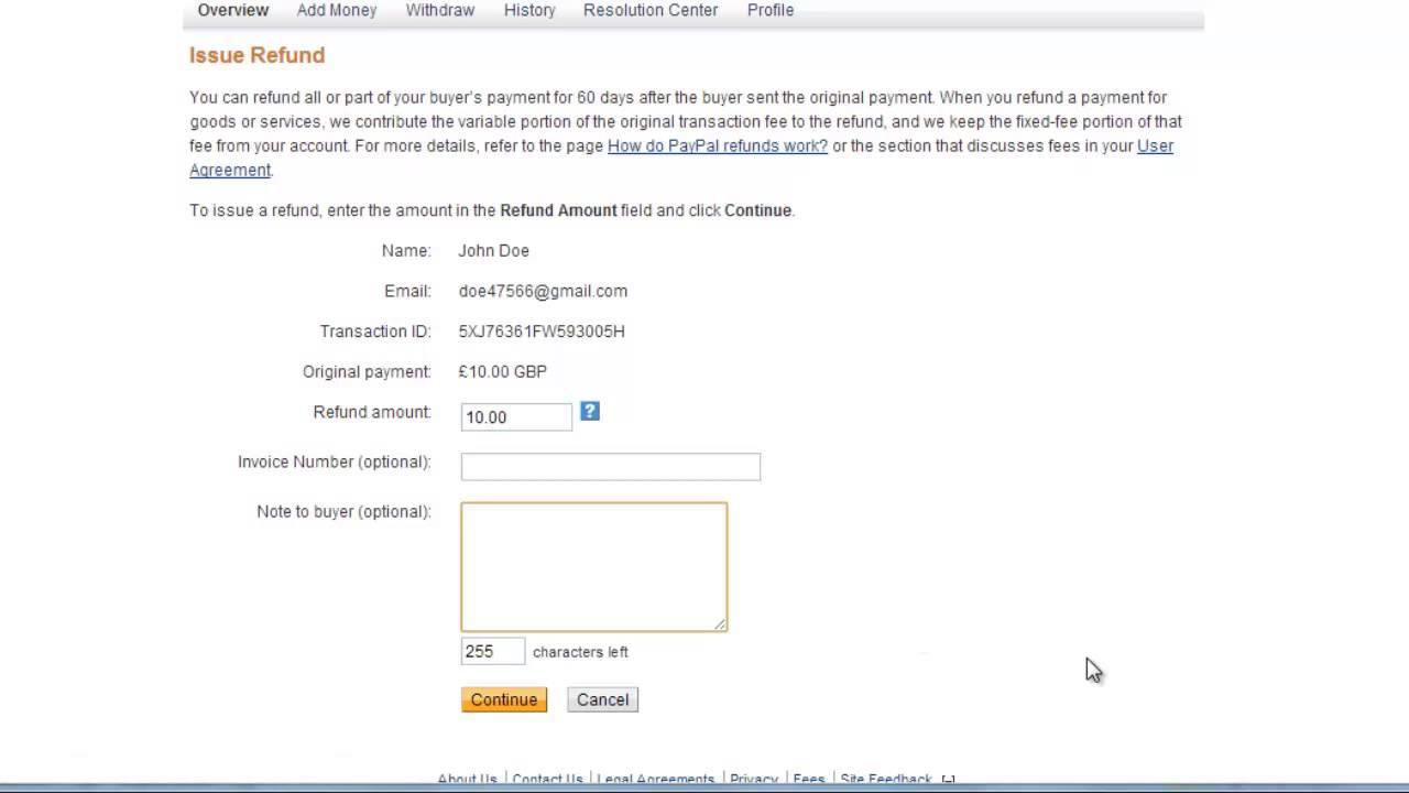 How to Send eBay Refund