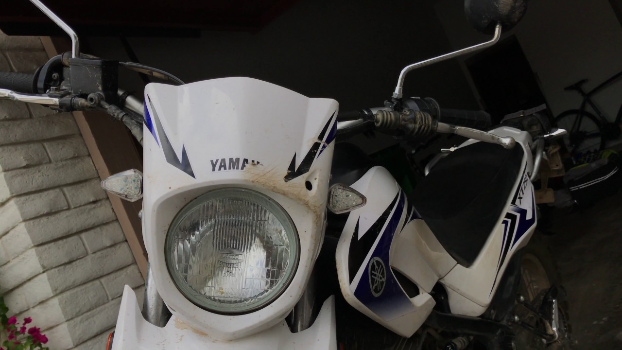 Aftermarket Blinkers on a Dual Sport