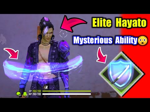 New Character Elite Hayato रहस्यमयी Character !! Garena Free Fire