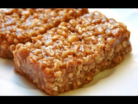 Charmant Recipe: No Cook Peanut Butter Protein Bars   YouTube