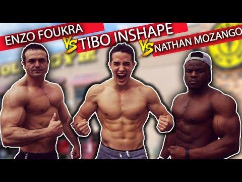 TIBO INSHAPE VS NATHAN MOZANGO VS ENZO FOUKRA !