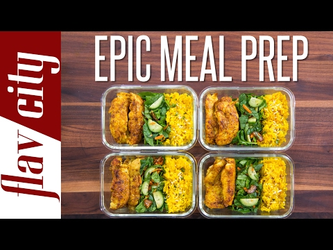 Tasty Meal Prep That Doesn't Suck - Guide To Meal Prepping