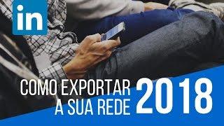 Como Exportar a sua Rede no Linkedin :) insalesbrasil.com.br