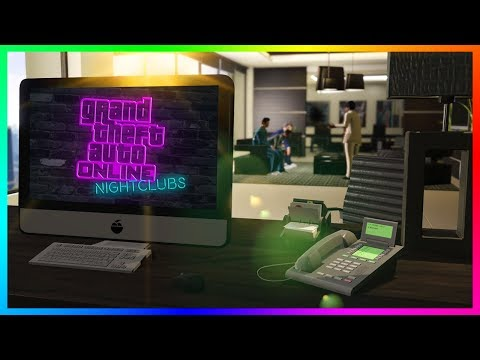 GTA Online Nightclub DLC Information - Official Trailer Early, NEW Details From DJs & MORE! (GTA 5)