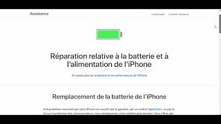 [IPHONE] - Problème de Batterie ?  - Astuce #1