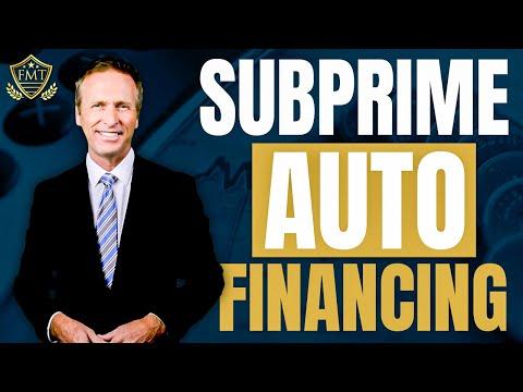 F&I Training Tips: Subprime Auto Financing 101