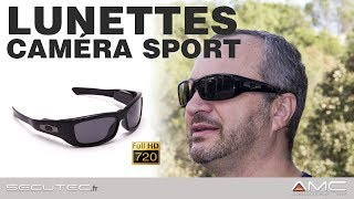 LUNETTES CAMERA SPORT HD 720P [SECUTEC.FR]
