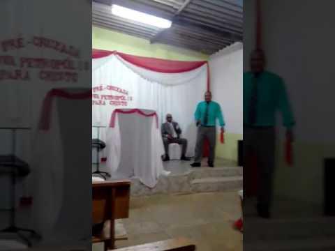 PASTOR CICERO NA ASSEMBLÉIA DE DEUS MINISTÉRIO GUARA EM NOVA PETROPOLIS-GO