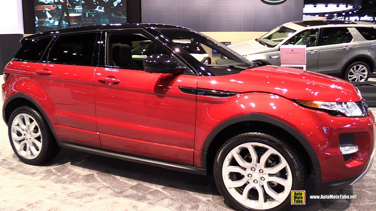 2015 Range Rover Evoque Exterior and Interior Walkaround 2015
