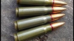 "7.62x39mm, Wolf Ammo FMJ Velocity Test, 10"" barrel"