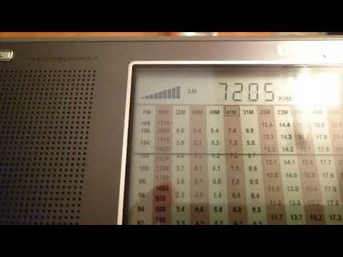 7205 KHz  Sudan Radio