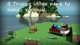 ☆ Minecraft: 8 Trucos utíles para tu mundo survival.