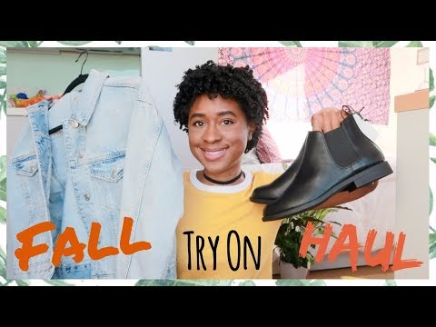 FALL Try-On HAUL (UK Edition) TOP SHOP,...