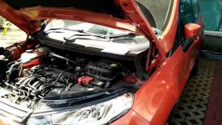 Letak posisi nomor mesin Ford Ecosport Titanium