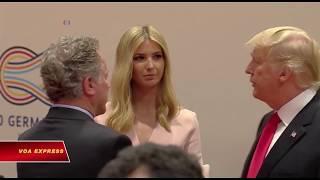 Trump bênh vực việc con gái Ivanka ngồi vào bàn lãnh đạo G20