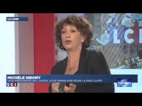 vérité sur Israël et la france à la télé! une juive sincère parle aux journalistes sioniste