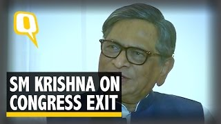 The Quint: 'There Isn't Any Seriousness in Congress Leadership': SM Krishna