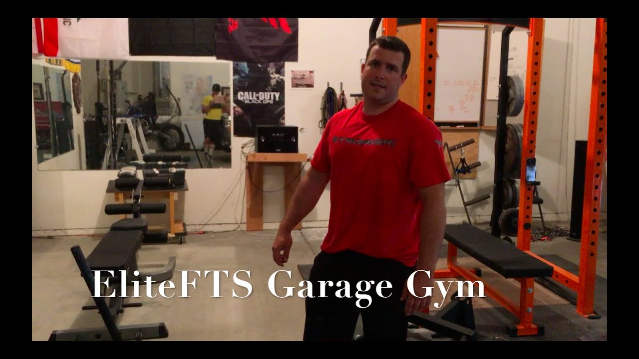 Elitefts garage gym t barbell youtube