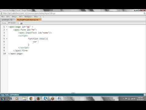 Visualforce Session-4(Javascript ) -Satish Myla