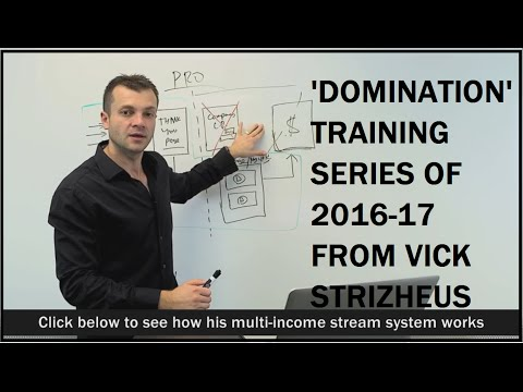 Vick Strizheus 2017 latest 'DOMINATION' training series secret video 1