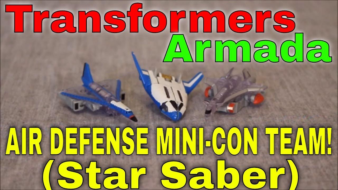 The Star Saber: Transformers Mini-Con Air Defense Team Review