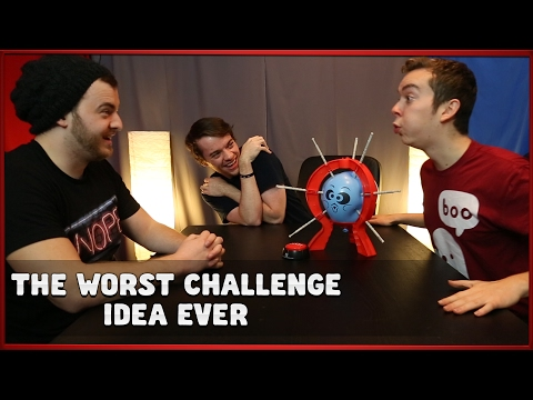 THE WORST CHALLENGE IDEA EVER W/ Parker & Andrew