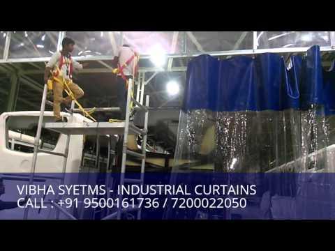 Paint Booth Curtains, Car Wash Curtains, Chennai, India