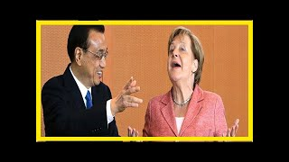 Breaking News | Merkel heads to China to talk economy, trade, rule of law