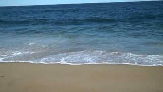 ocean waves at Salisbury beach, Massachusetts