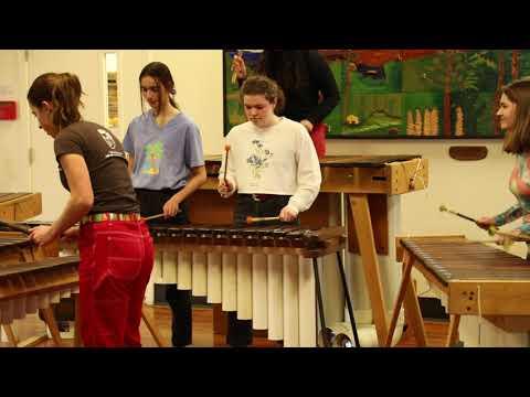 Marimba Band at Catlin Gabel School