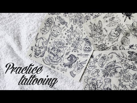HOW I PRACTICE TATTOOING ?