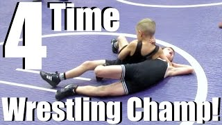 4 TIME KID WRESTLING CHAMP!!!! CHAMPION KID WRESTLER | DYCHES FAM