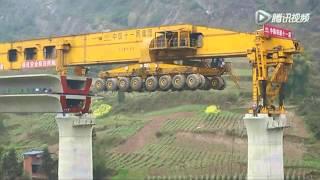 Mesin pembuat jembatan tercepat didunia