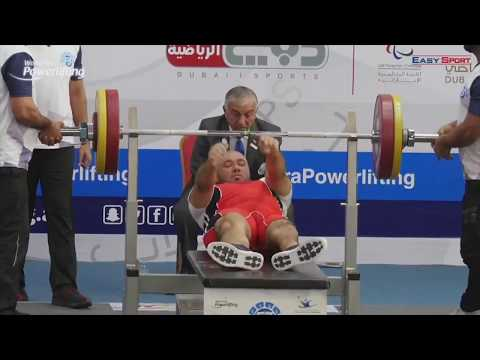 KIC graduate Abdullah Alarimi in Fazza World Para Powerlifting 2018 Dubai
