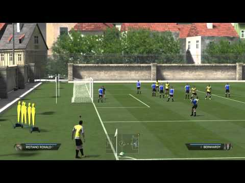 Direct Corner Goal FIFA 14