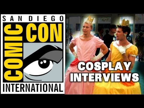 Cosplay Interviews w/ The Creatures (@ Comic-Con 2012)