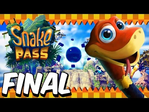 Snake Pass (100%) | FINAL | Level 15 + ENDING (Nintendo Switch)