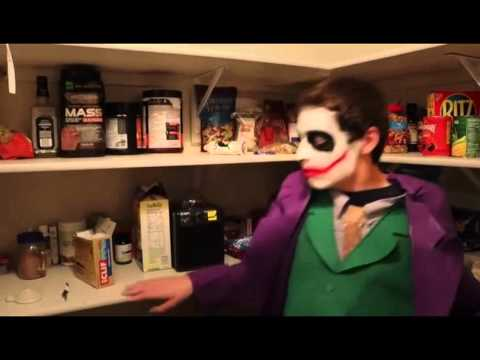 Crazy Joker Vs Zombies In Real Life Superhero Movie!