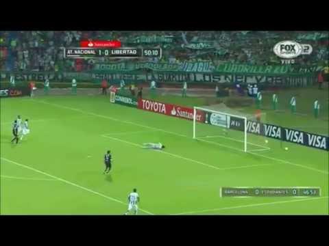 Atlético Nacional 4 - 0 Libertad Copa Libertadores 2015