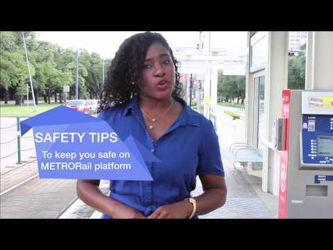 How to Stay Safe on Rail Platforms #USRailSafetyWeek